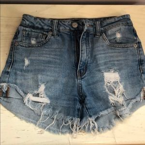Just USA Ripped Jean Short Size XS